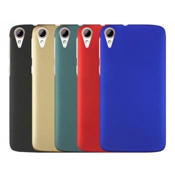 Пластиковый непрозрачный матовый чехол для HTC Desire 828