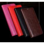 Винтажный чехол горизонтальная книжка на пластиковой основе для HTC Desire 828