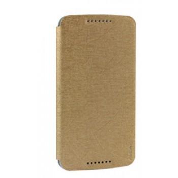 Чехол горизонтальная книжка на силиконовой основе на присосках для HTC Desire 828
