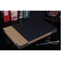 Сегментарный чехол книжка подставка текстура Линии с рамочной защитой экрана, крепежом для стилуса и тканевым покрытием для Lenovo Tab 2 A10