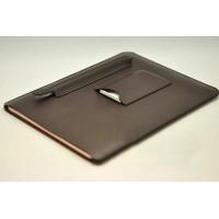 Кожаный мешок (иск. кожа) с отсеком для карт и стилуса для Ipad Pro Коричневый