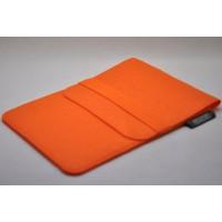 Войлочный мешок с отсеком для карт на резинке для Ipad Pro 9.7  Оранжевый