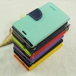 Чехол горизонтальная книжка подставка на силиконовой основе на дизайнерской магнитной защелке для Sony Xperia X Performance