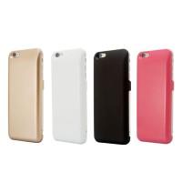 Пластиковый непрозрачный матовый чехол с встроенным аккумулятором (5000 мАч) для Iphone 6 Plus/6s Plus