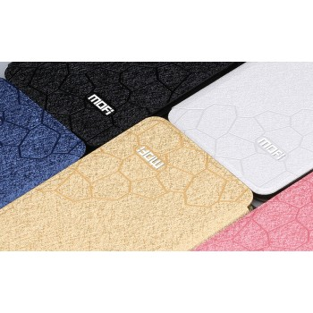 Чехол горизонтальная книжка подставка текстура Соты на силиконовой основе для Huawei GR3