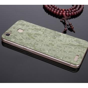 Экстратонкая клеевая натуральная деревянная накладка для Huawei GR3