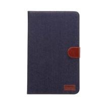 Чехол книжка подставка на непрозрачной поликарбонатной основе с магнитной защелкой и отсеком для карт для Samsung Galaxy Tab A 10.1 (2016)  Черный