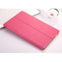 Чехол книжка подставка на непрозрачной поликарбонатной основе для Samsung Galaxy Tab A 10.1 (2016)  Пурпурный