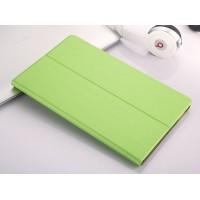 Чехол книжка подставка на непрозрачной поликарбонатной основе для Samsung Galaxy Tab A 10.1 (2016)  Зеленый