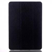 Сегментарный чехол книжка подставка на транспарентной поликарбонатной основе для Samsung Galaxy Tab A 10.1 (2016)  Черный