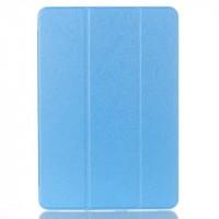 Сегментарный чехол книжка подставка на транспарентной поликарбонатной основе для Samsung Galaxy Tab A 10.1 (2016)  Голубой