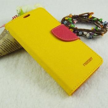 Чехол портмоне подставка на силиконовой основе на дизайнерской магнитной защелке для Sony Xperia Z1 Compact