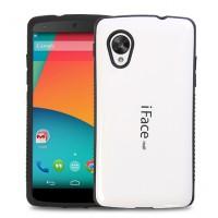 Силиконовый глянцевый непрозрачный чехол для Google LG Nexus 5
