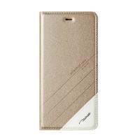 Чехол горизонтальная книжка подставка текстура Линии на пластиковой основе для Huawei Honor 4C Pro  Бежевый