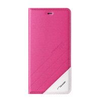 Чехол горизонтальная книжка подставка текстура Линии на пластиковой основе для Huawei Honor 4C Pro  Пурпурный