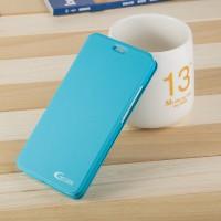 Чехол горизонтальная книжка подставка на пластиковой основе для Huawei Honor 4C Pro Голубой
