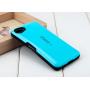 Силиконовый глянцевый непрозрачный чехол с нескользящими гранями для Sony Xperia Z5 Compact