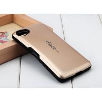 Силиконовый глянцевый непрозрачный чехол с нескользящими гранями для Sony Xperia Z5 Compact  Черный