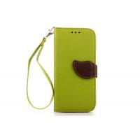 Чехол портмоне подставка на силиконовой основе на дизайнерской магнитной защелке для HTC One (M8)