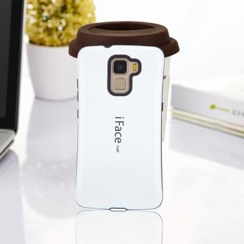 Силиконовый глянцевый непрозрачный эргономичный чехол с нескользящими гранями для Huawei Honor 7
