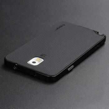 Двухкомпонентный силиконовый матовый непрозрачный чехол с поликарбонатным бампером для Samsung Galaxy Note 3