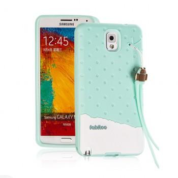 Силиконовый матовый непрозрачный дизайнерский фигурный чехол для Samsung Galaxy Note 3
