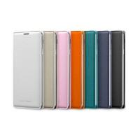 Оригинальный чехол смарт флип на пластиковой основе с отсеком для карт для Samsung Galaxy Note 3