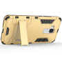 Двухкомпонентный чехол силикон/поликарбонат экстрим защиты со встроенной ножкой-подставкой для Huawei Honor 5C