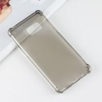 Силиконовый матовый полупрозрачный чехол с усиленными углами для Samsung Galaxy Note 7