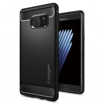 Силиконовый матовый непрозрачный дизайнерский фигурный чехол для Samsung Galaxy Note 7
