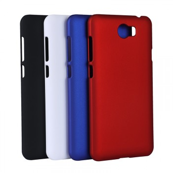 Пластиковый непрозрачный матовый чехол для Huawei Honor 5A/Y5 II