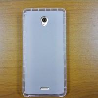Силиконовый матовый полупрозрачный чехол для Oukitel K4000  Белый