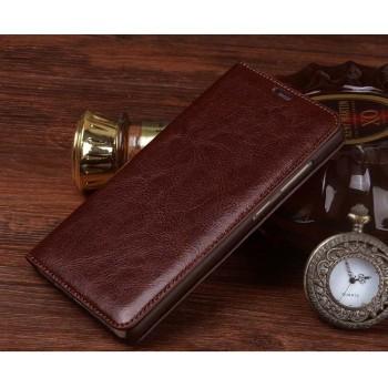 Кожаный чехол горизонтальная книжка (премиум нат. винтажная кожа) для Xiaomi MI5