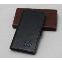 Кожаный чехол горизонтальная книжка подставка (премиум нат. кожа) с крепежной застежкой для Xiaomi MI5