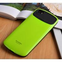 Силиконовый глянцевый непрозрачный чехол для Xiaomi MI5  Зеленый