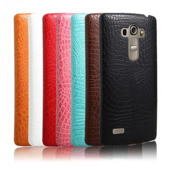 Чехол накладка текстурная отделка Кожа для LG G4 S