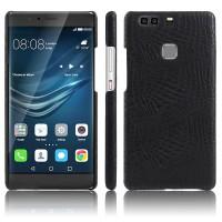 Чехол накладка текстурная отделка Кожа для Huawei P9 Plus