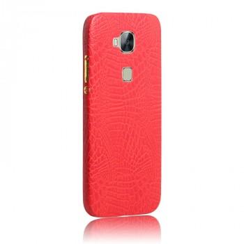 Чехол накладка текстурная отделка Кожа для Huawei G8