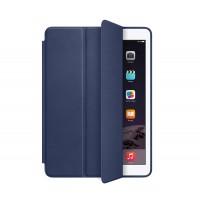 Сегментарный чехол книжка подставка на непрозрачной силиконовой основе для Ipad Pro  Синий