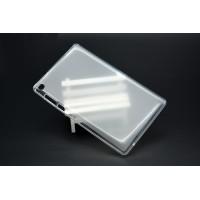 Силиконовый матовый полупрозрачный чехол для Lenovo Tab 3 7 Essential Белый