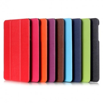 Сегментарный чехол книжка подставка на непрозрачной поликарбонатной основе для Lenovo Tab 3 7 Essential