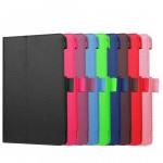 Чехол книжка подставка с рамочной защитой экрана и крепежом для стилуса для Lenovo Tab 3 7 Essential