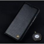 Кожаный чехол горизонтальная книжка (премиум нат. кожа) для Meizu MX6