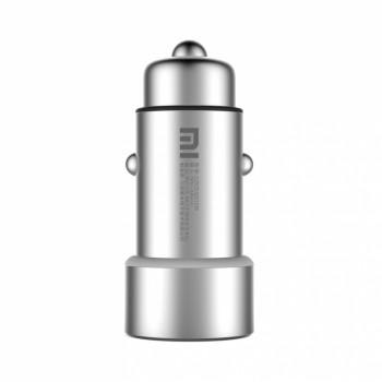 Оригинальное металлическое автомобильное зарядное устройство Xiaomi на 2 USB разъема 5В 3.6А