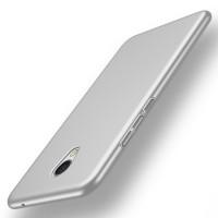 Пластиковый непрозрачный матовый чехол с улучшенной защитой элементов корпуса для Meizu MX6  Серый