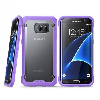 Двухкомпонентный противоударный чехол силикон/поликарбонат для Samsung Galaxy S7 Edge