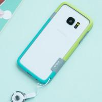 Силиконовый матовый непрозрачный чехол бампер для Samsung Galaxy S7 Edge