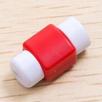 Противоизносный кабельный зажим дизайн Леденец Красный