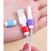 Противоизносный кабельный зажим дизайн Леденец для Samsung Galaxy S5 Mini (duos, SM-G800, SM-G800H, SM-G800F, g800f, g800h)