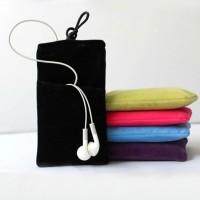 Войлочный мешок с бархатным покрытием и отсеком для карт для Sony Xperia XA Ultra